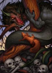 Nidhogg (page 1) by Kahito-Slydeft
