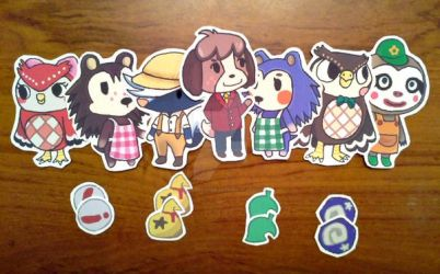 Digby Sticker Set by QueenJellybeany