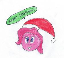 Merry Christmas from Pinkie Pie by dth1971