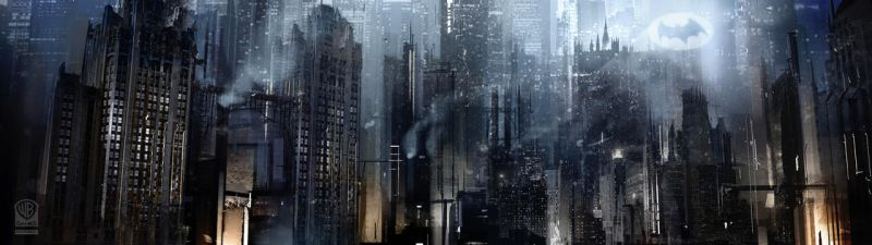 Batman Arkham Origins Gotham City. by Gryphart