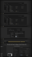 After Dark Gold Theme Win10 April 2018 Update by Cleodesktop