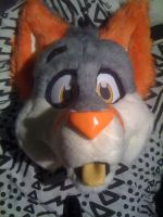 Slushie the Fox WIP 2 by FurryFursuitMaker