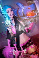 Jinx cosplay by adami-langley