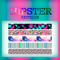 +Hipster Patterns by CandyBiebs