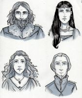 Hogwarts Founders by RiTTa1310