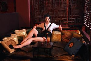 Lounging by KatTraill