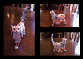 ---SOLD--- Customized Okami 'Kabegami' figure by stephanie1600