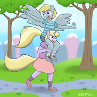 Dinky and Chirpy by Empyu