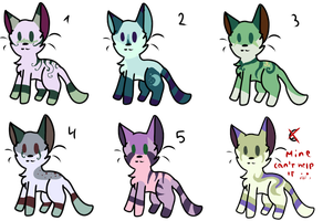 Random Palette Adopts OPEN 1 LEFT by alicesstudio