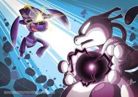 Mewtwo versus Genesect
