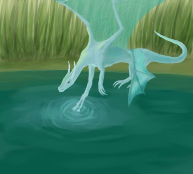 This Water is Blessed by cryingcrimson-dragon