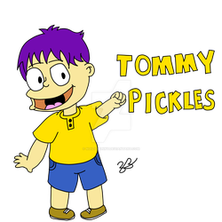 Tommy Pickles by Noizy-Bunny