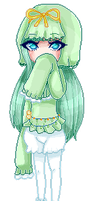 Pagedoll pixel Commission for pastelee by AruOwlsArts