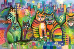City Cats  revamp. by karincharlotte