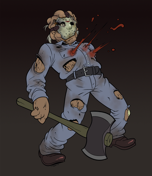 Rowdy, Lumpy Boy AKA Part 9 - Jason goes to Hell by AngusBurgers