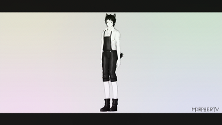 [MMD||DL] Human Boris || Note for DL by MorpherTV