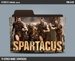 Spartacus folder icon by kasbandi