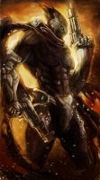 Guns of the apocalypse - Darksiders by chimicalstar