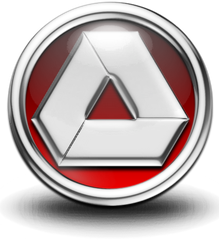 Chromed out Google Drive Icon by RabidWeezle