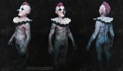 Blue Nose the Clown by Shapula