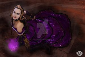 Liliana's Defeat -card inspired cosplay by 20Tourniquet02