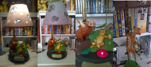 Lion King Interactive Lamp by LittleRolox3