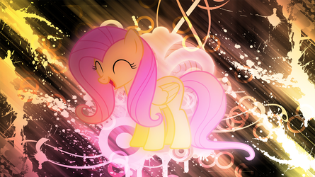[1 Year Anniversary] Fluttershy Wallpaper 1080p by EnemyD