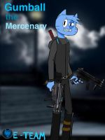 Gumball the Mercenary by rexcommando656