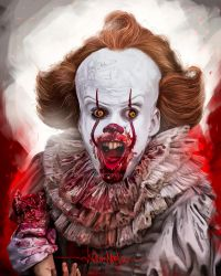 Pennywise by KevinMonje
