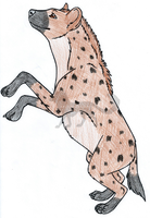 Happiness is a Hyena by InkHyaena