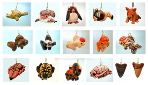 Rare, endangered, and extinct animal toy series by EatToast