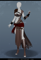 (closed) Outfit Adopt 636 - Greek Gods Themed by CherrysDesigns