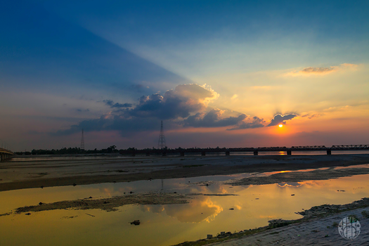 Sunset In TISTA by yearuzzaman