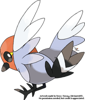 Fletchling by Xous54