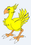 Chocobo Sprite by Valforwing