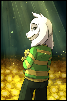 Where the Flowers Bloom by Skeleion