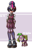EG TS and D Spike by thegreatrouge