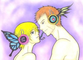 Magnet Jake And Sherry by MadeInHeavenFF15