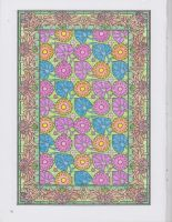 Decorative Tile Coloring Book pg. 30 by TeaCeremony