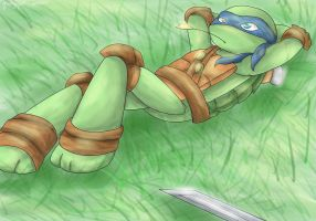 A rest by MiniMightyMichelnglo