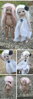 Talaya - Hand made BJD - Resin casts by Chiichanny