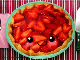--Strawberry Pie-- by mkirby712