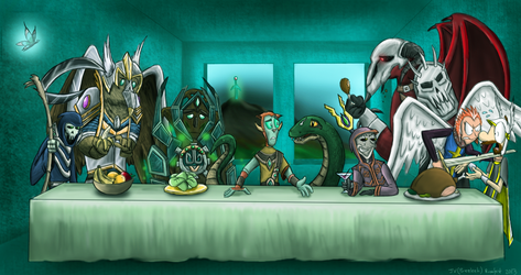 The Last Supper of the 5th Age - GGA Entry by prezleek