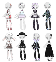+Outfit Adoptable Mix 13 [CLOSED] + by Hunibi