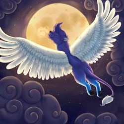 Fly Me to the Moon by Kiire