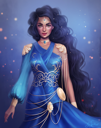 Queen Raveena by SandraWinther
