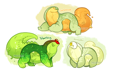 Melon-flavored snap batch! [closed] by Skelefrog