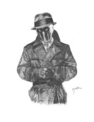 Rorschach by porcupinehead