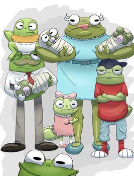 Family photo by PicassoProtege