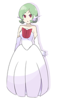 Pokemon - Mega Gardevoir Gijinka by chocomiru02
